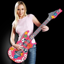 Groovy Inflatable Guitar