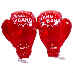 "18"" Red Inflatable Boxing Gloves"