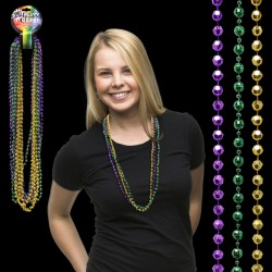 Disco Ball Mardi Gras Beads