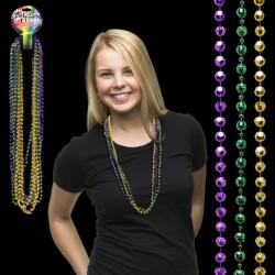 Disco Ball Mardi Gras Beads