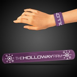 "8 3/4"" Purple Slap Bracelets"