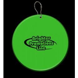 Green Circle Plastic Medallion Badges