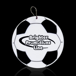 Soccer Ball Plastic Medallion Badges