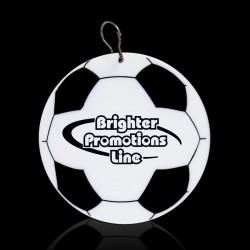 Soccer Ball Plastic Medallion Badges