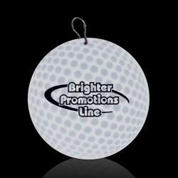 Golf Ball Plastic Medallion Badges