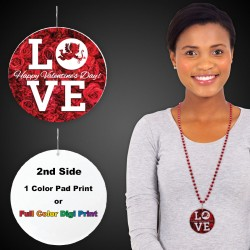 "Love Plastic Medallions2 1/2"">/br>"