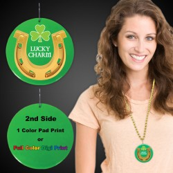 St. Patrick's Lucky Charm Medallions2 1/2""