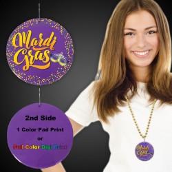 "Mardi Gras Medallions2 1/2"""
