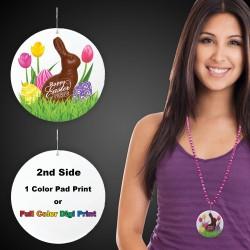 """Easter Peeps Plastic Medallions2 1/2"""""""