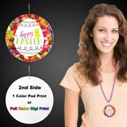 """Easter Egg Plastic Medallions2 1/2"""""""