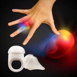 White LED Jelly Rings