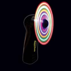 """4"""" Black Body LED Fan"""