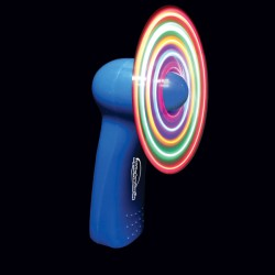 """Blue Body LED Fan -4"""""""