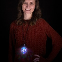 LED Disco Ball Necklace