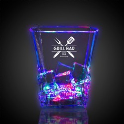 Light Up Whiskey Ice Rocks Glass