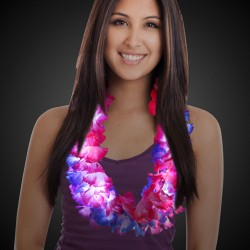 Light Up Flower Leis - 33 Inch