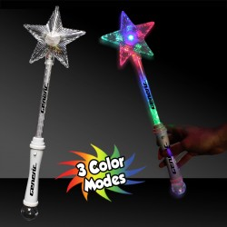 Multi Color Star Wand - 15 Inch