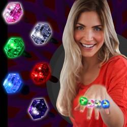 Light Up Diamond Rings