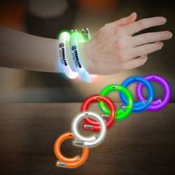 Flashing Coil Tube Bracelet - Multiple Colors