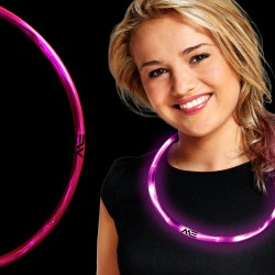 Pink Neon LED Necklaces