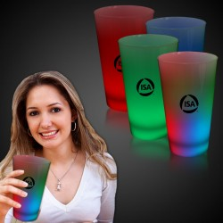 Neon LED Pint Glass