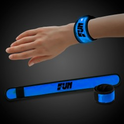 Blue LED Slap Bracelet