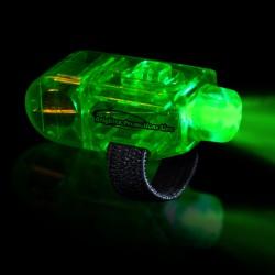 Green LED Finger Lights