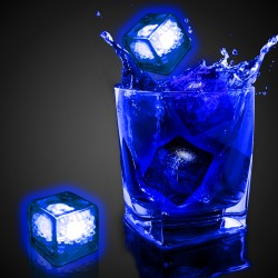 Blank Blue Liquid Activated Light Up Ice Cubes