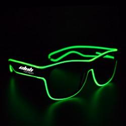 Green LED EL Sunglasses