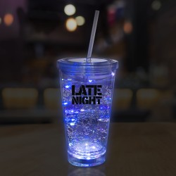 Blue String Light 16oz LED Cup