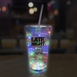 Multicolor String Light 16oz LED Cup