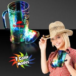 Cowboy Boot Light Up Cup