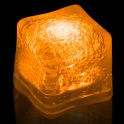 Blank ORANGE Lited Ice Cubes