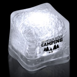 Imprinted WHITE Lited Ice Cubes