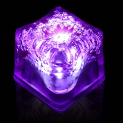 Blank PURPLE Lited Ice Cubes