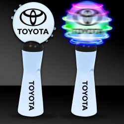 """9"""" LED Coin Spinner Wand"""