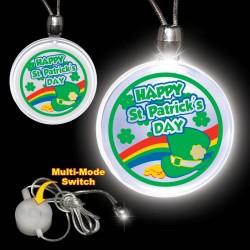 St. Patrick's Day Pendant Necklace