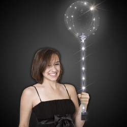 White LED Light Up Lollipop Balloon™