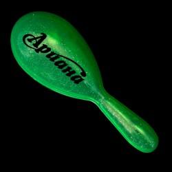 Green 7 Inch Glitter Maraca