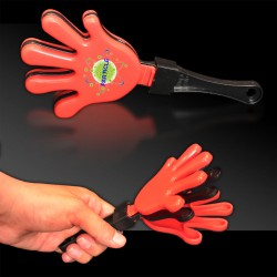 Red & Black Hand Clappers