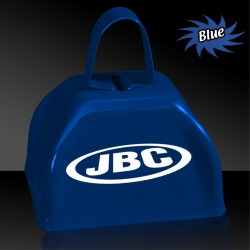 "3"" Blue Metal Cowbells"