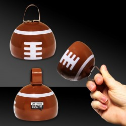 Football Metal Cowbell