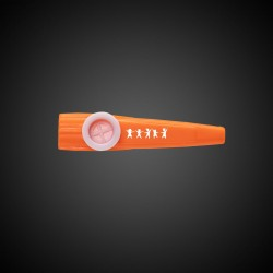 Orange Plastic Kazoo