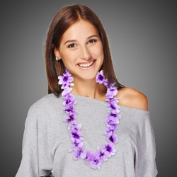 Purple Flower Leis