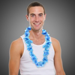 Blue Flower Leis