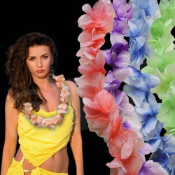 Single Color Flower Leis - 36""