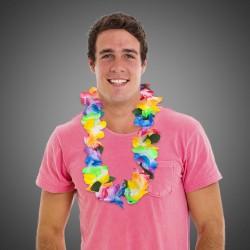 Multi Color Tie Dye Lei