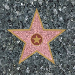 Walk of Fame Star Beverage Napkins