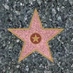 Walk of Fame Star Beverage Napkins