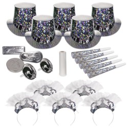 Sterling Silver New Year's Eve Kit for 10 People
